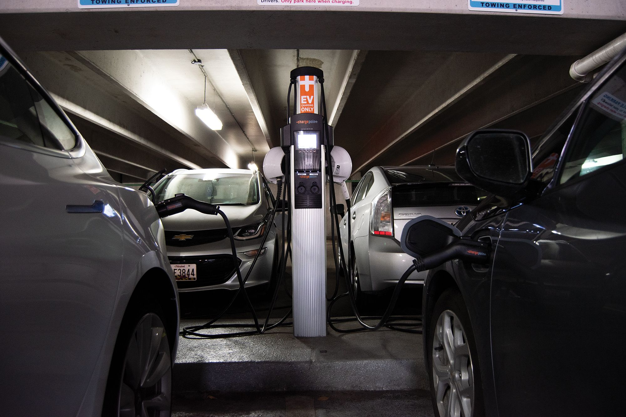 Electric Car Charging Stations Locations >> Umd Has Over 30 Spots To Charge Electric Cars But They Re
