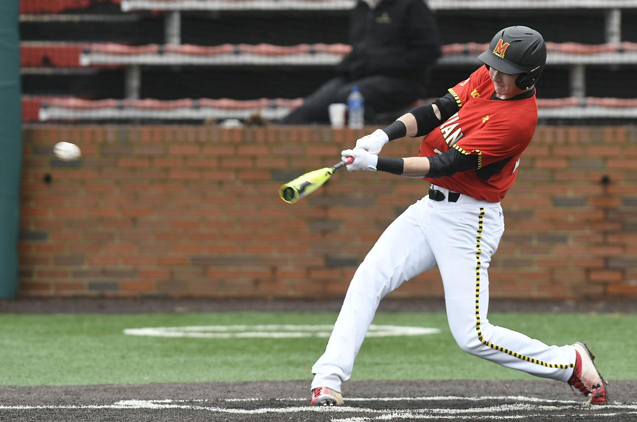 Maryland Baseball S Canadian Junior College Transfer Showed His Versatility Vs Michigan The Diamondback
