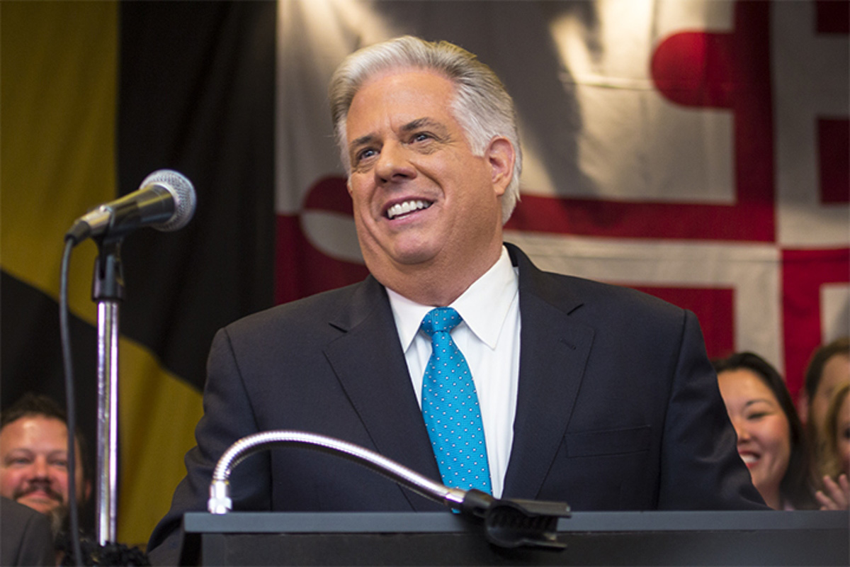 Larry Hogan didn't vote for Donald Trump. Instead, he wrote in his ...