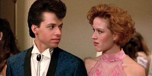 Andie and Duckie from Pretty in Pink - The Diamondback