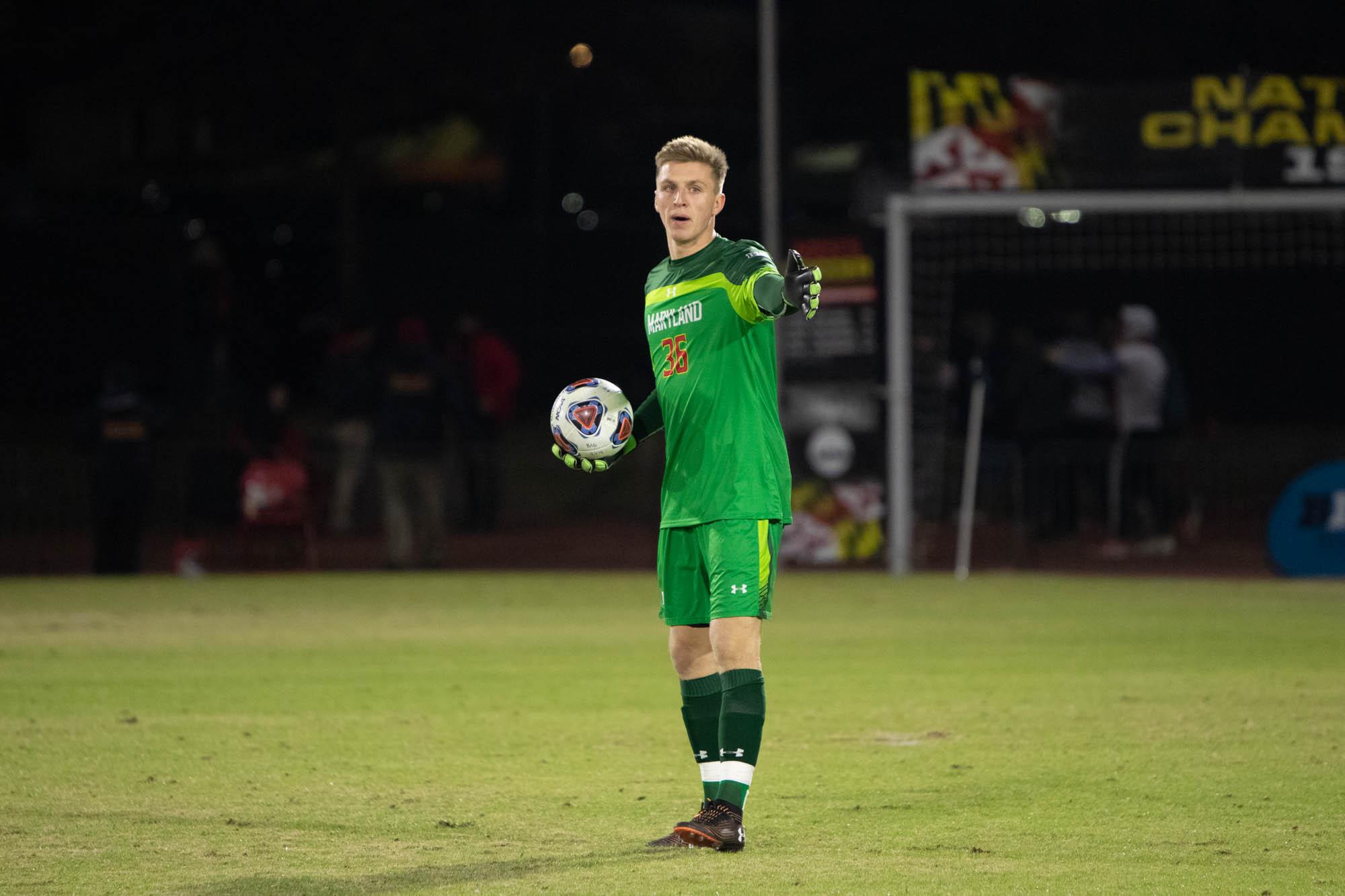 Maryland soccer goalie Niklas Neumann signs contract with German side KSV Hessen Kassel - The Diamondback