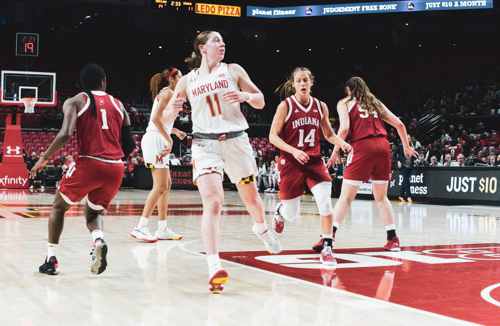 No 20 Maryland Women S Basketball Tops No 17 Indiana 76 62 For Third Straight Win The Diamondback