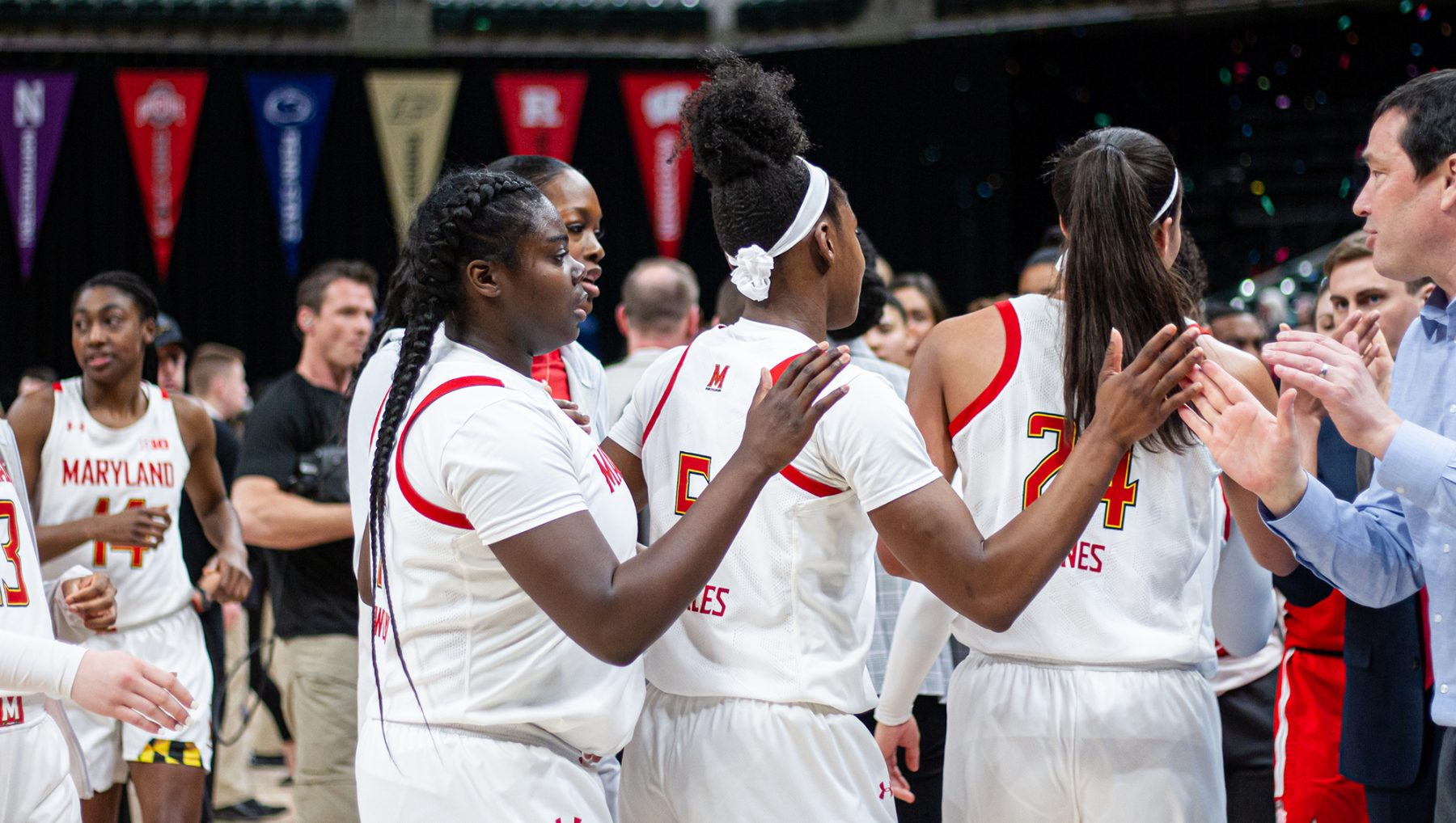 Maryland women's basketball has remained optimistic in the face of uncertainty
