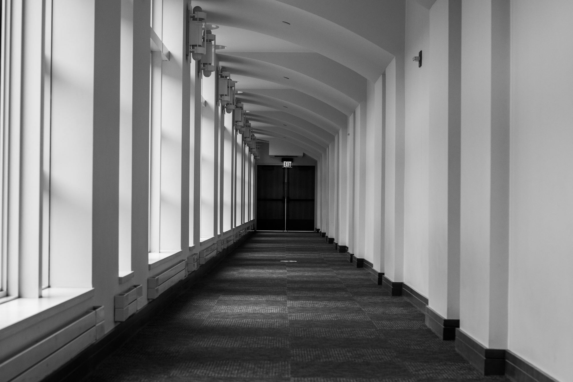 An empty hallway