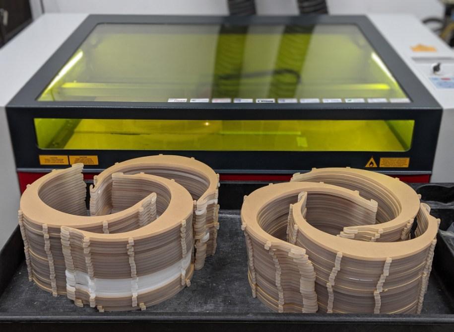 A laser machine